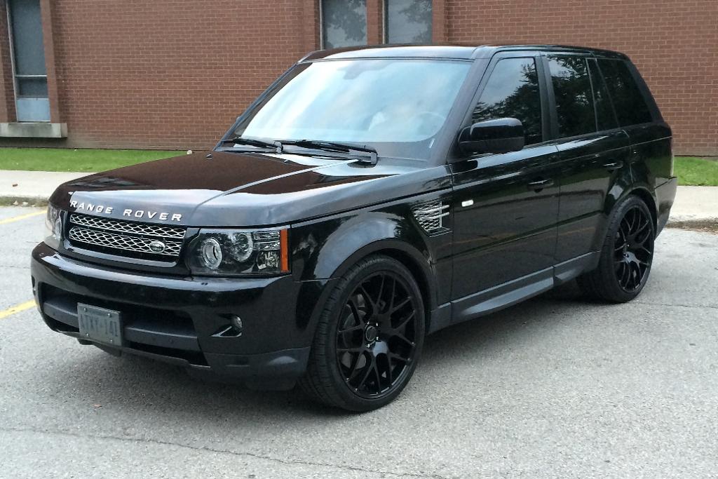 Black Matte Range Rover >> M310 Wheels Matte Black Range Rover Sport 5