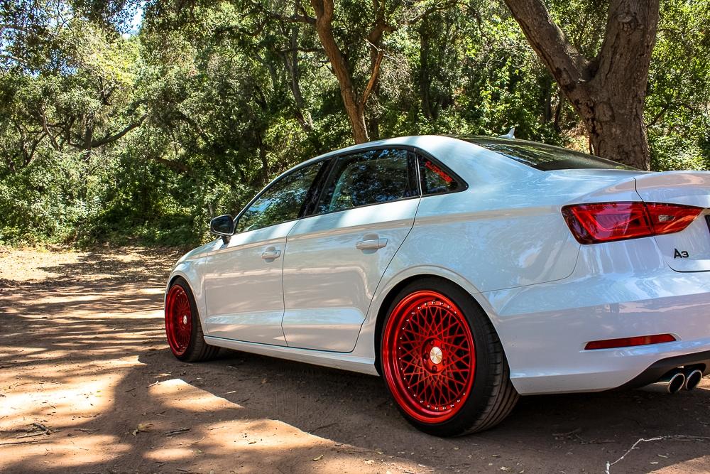 Audi A3 Sedan M220 Candy Red 18