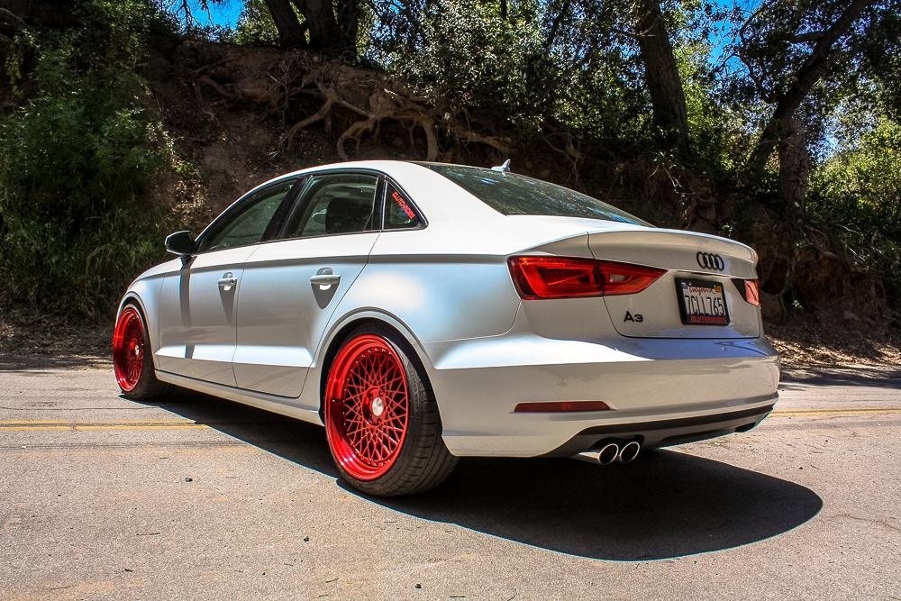 Audi A3 Sedan M220 Candy Red 6