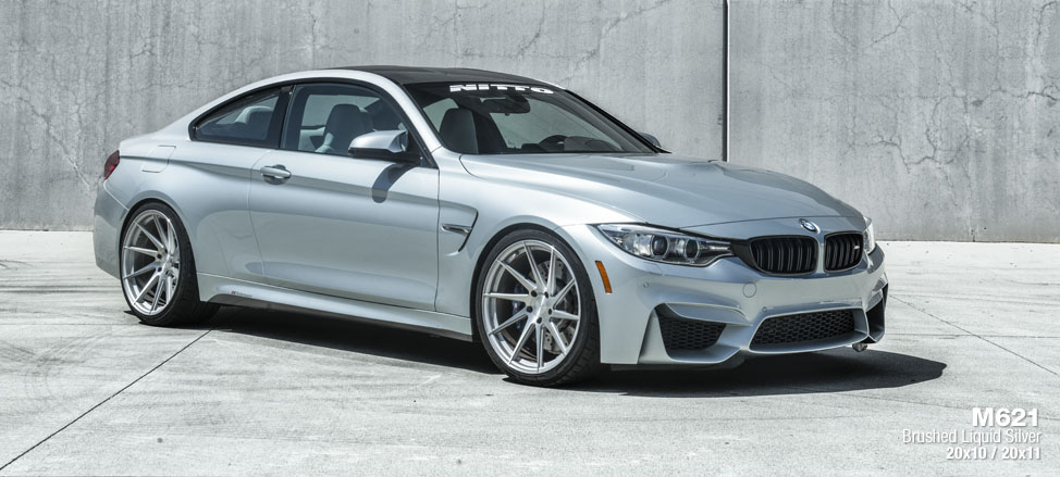 BMW F82 M4 staggered directional concave wheels