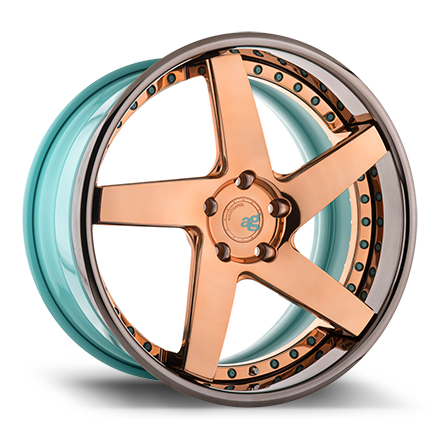 "20"" Polished Copper with Smoked Mirror Lip [SPEC2]"