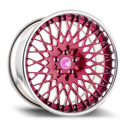 "20"" Brushed Raspberry with Polished Lip [SPEC1]"