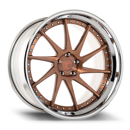 "21"" Brushed Antique Copper with Chrome Lip [SPEC1]"