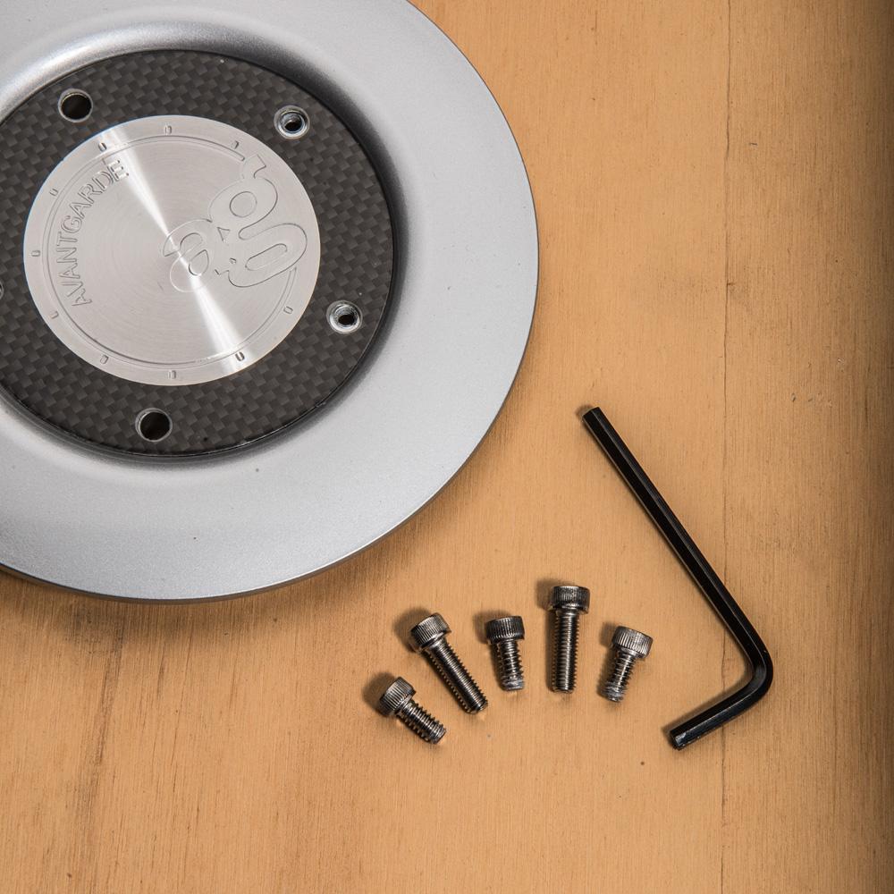 centercap replacement avant garde wheels ag m220 lug nut cover oz futura detail