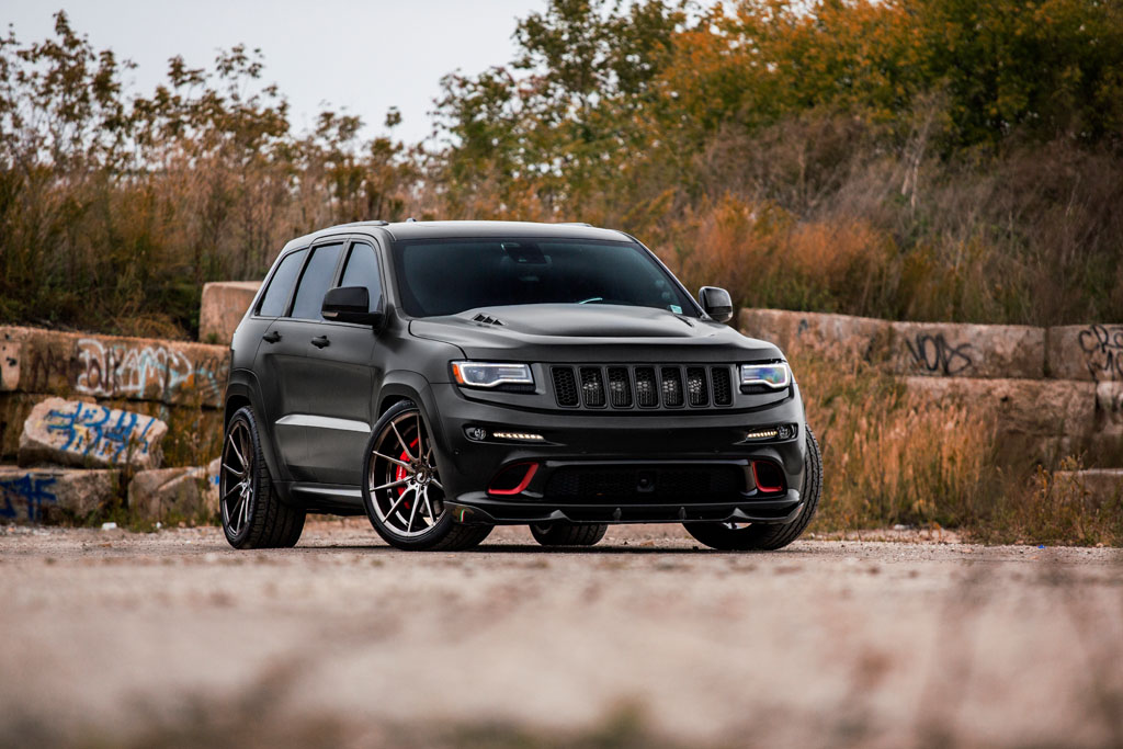 Jeep Srt 8 2017 >> Jeep Grand Cherokee SRT with 22″ M652 Wheels – Avant Garde Wheels