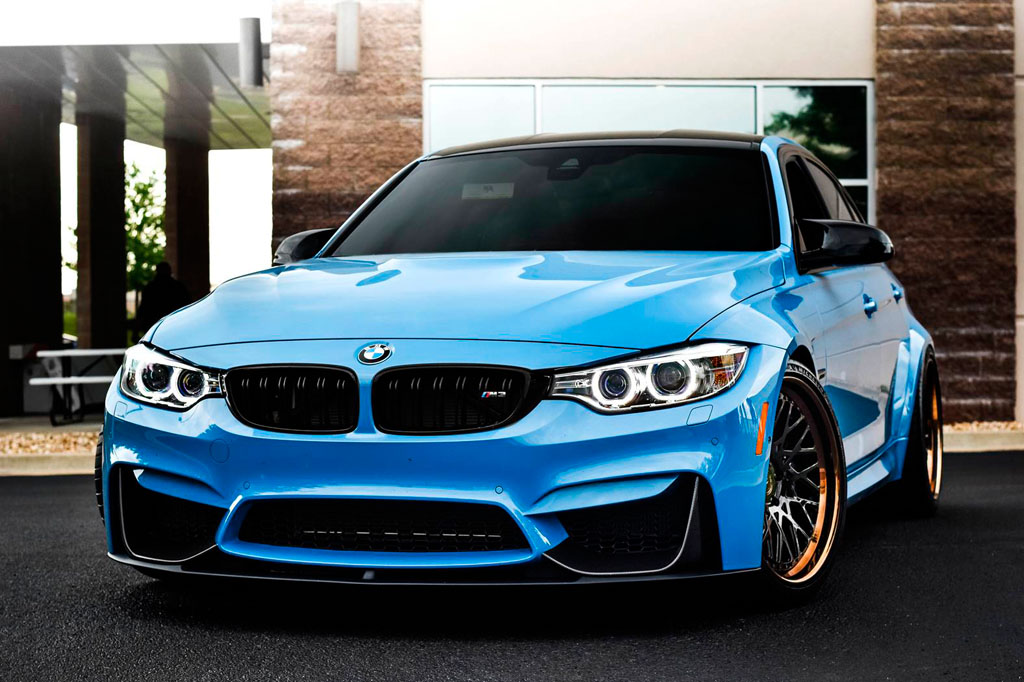blue bmw f80 m3 f542 spec1 staggered mesh concave forged wheels bronze step lip 20 inch rims agwheels avant garde front