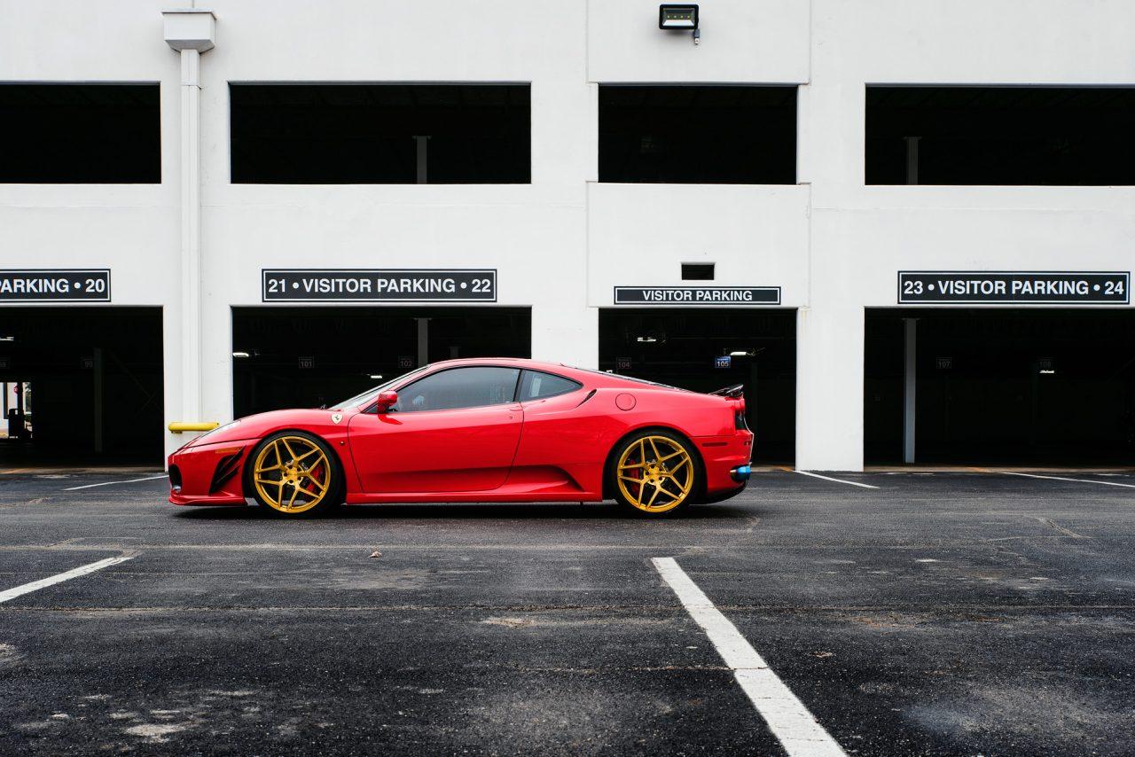 Ferrari F430 x Avant Garde M650