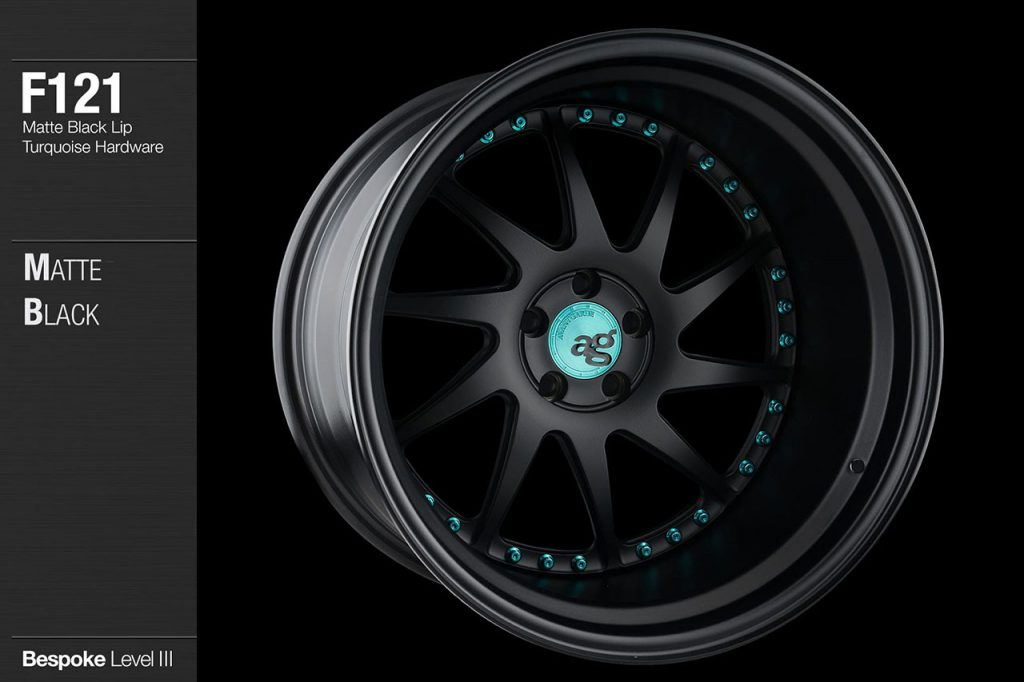 avant-garde-ag-wheels-f121-matte-black-face-lip-turquoise-hardware-4-min