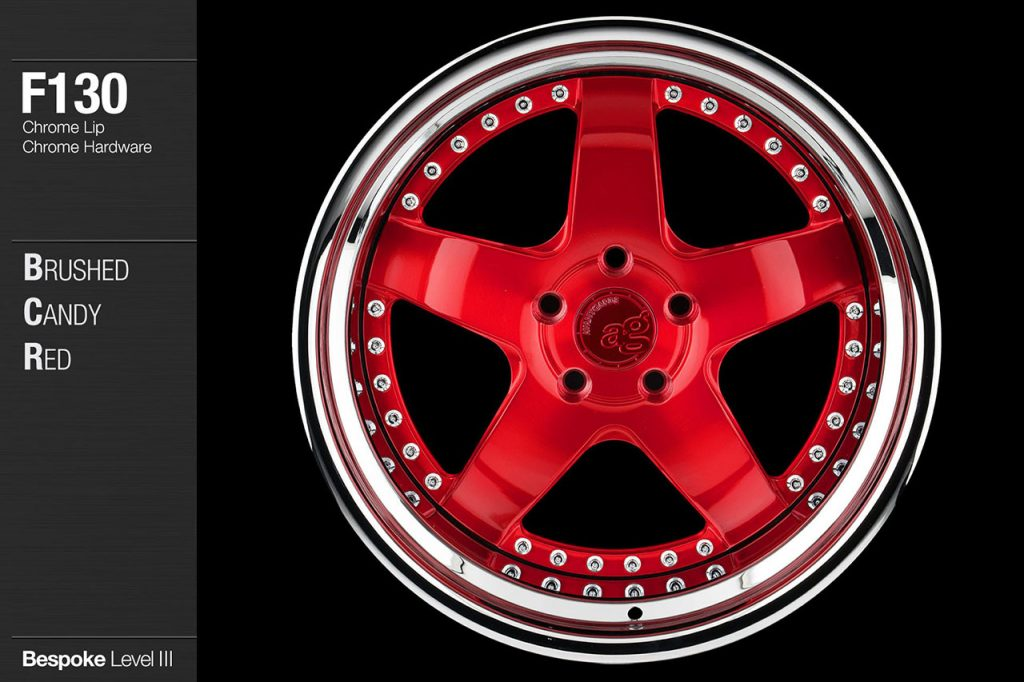 avant-garde-ag-wheels-f130-brushed-candy-apple-red-face-chrome-lip-hardware-1-min