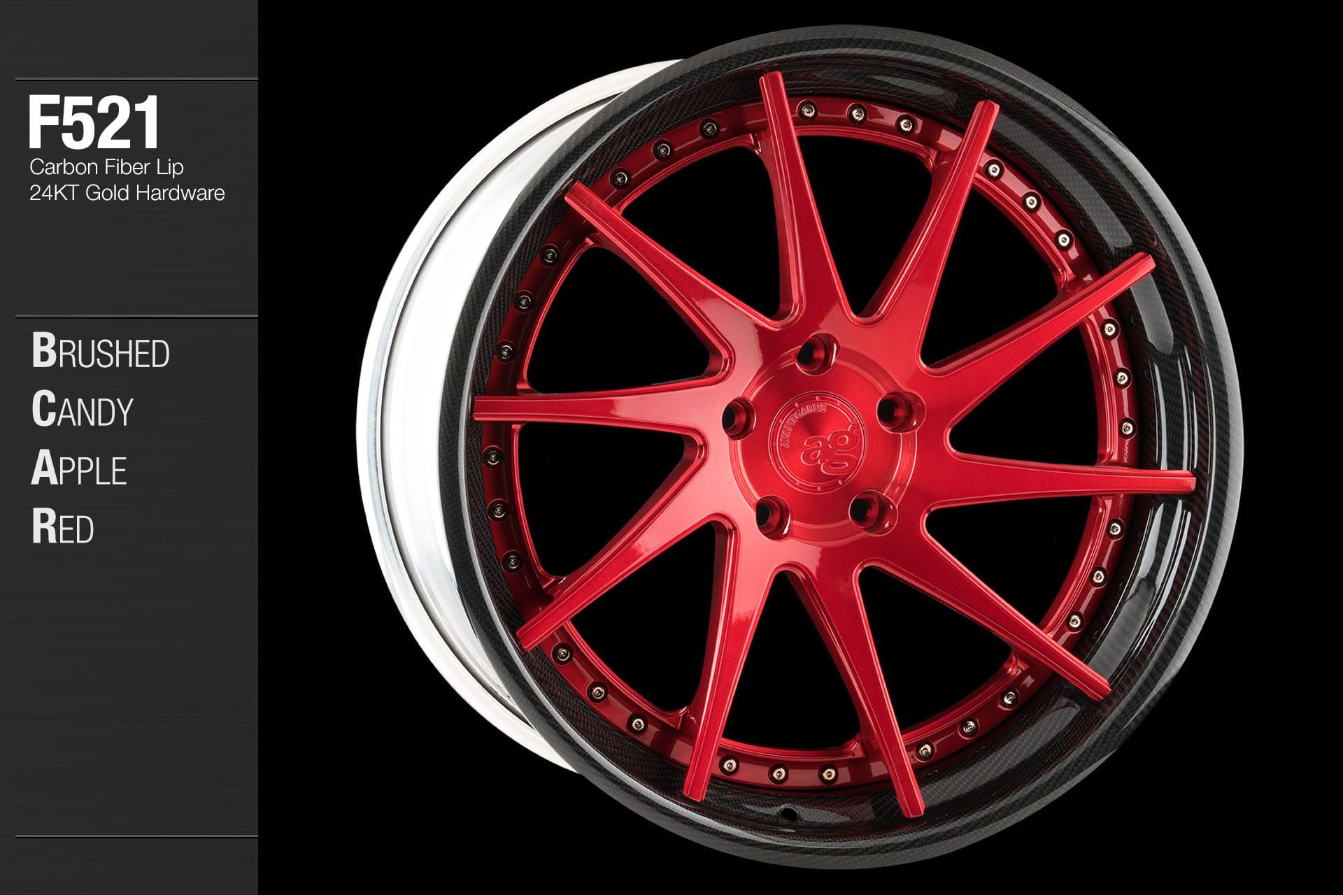 Avant Garde Wheels Ag F521 Custom Finishes Gallery