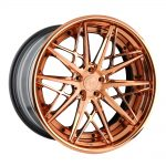 avant garde wheels agwheels f538 ag form & function forged concave custom banner brushed polished rose gold 20 inch 21 19 stance