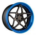 avant garde wheels agwheels rims custom concave forged three piece five spoke satan star f539