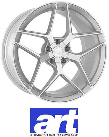Advanced Rim Technology (A.R.T) utilizes the latest in spin forming manufacturing to produce a wheel that is significantly lighter than traditional cast wheels with enhanced strength comparable to fully forged wheels. Each design is available with custom machining for individualized wheel fitments.